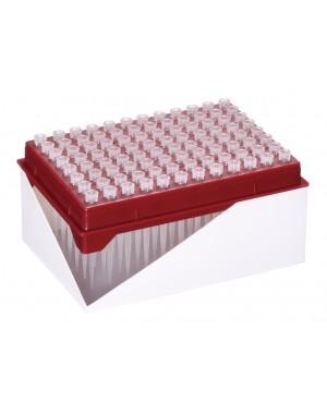 Końcówki 10ul z filtrem HYPER, długie (50mm), 10x96szt., refill plate, sterylne
