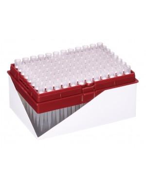 Końcówki 200ul z filtrem HYPER, 10x96szt., refill plate, sterylne