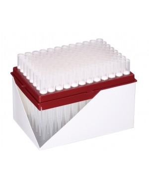 Końcówki 1000ul z filtrem HYPER, 10x96szt., refill plate, sterylne