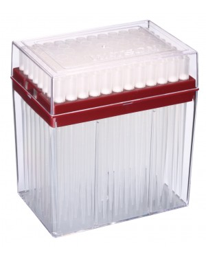 Końcówki 1200ul z filtrem HYPER, extra long 10x96szt., system PC rack, sterylne