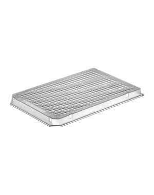 384-well PCR-plate clear, full-skirted  5x10 plates/case