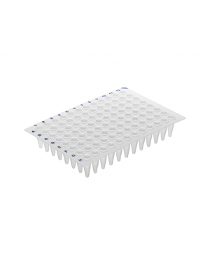 96-Well qPCR Plate white, standard profile, no skirt10 x 5 Plate/case