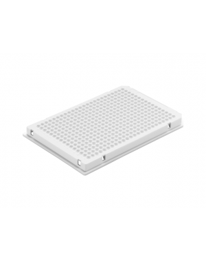 384-well qPCR plate white, full-skirted5x10 plates/case