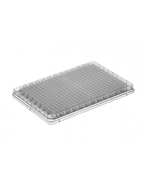 384-well microplate PS clear 50/case