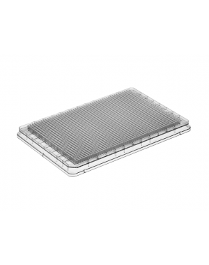 1536-well microplate PS clear 50/case